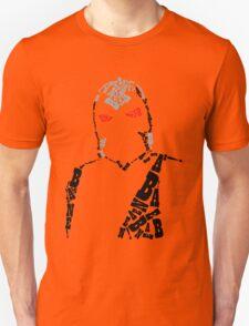Bane Typography Unisex T-Shirt