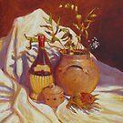 Banksia and Chianti by Cary McAulay