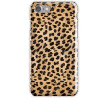 Cheetah hide - small pattern iPhone Case/Skin