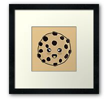 Kawaii Cookie Framed Print