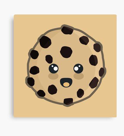 Kawaii Cookie Canvas Print