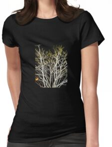 Iceland Tree 1 Womens Fitted T-Shirt