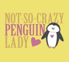 NO-SO-CRAZY penguin LADY One Piece - Short Sleeve