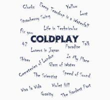 Coldplay Songs Shirt