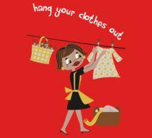 Hang Your Clothes Out II Kids Tee