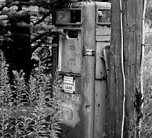 Got Gas? Black and White by Jeffrey J. Miller
