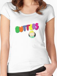 Butters South Park Women's Fitted Scoop T-Shirt