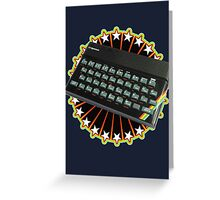 Sinclair ZX Spectrum Celebration Greeting Card