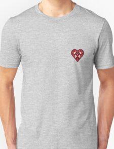 Folk Heart 2 Unisex T-Shirt
