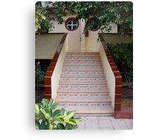 Ceramic Staircase Canvas Print