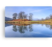 River Brathay Reflections, The Lake District, Cumbria Canvas Print
