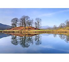 River Brathay Reflections, The Lake District, Cumbria Photographic Print