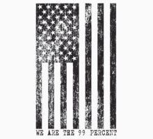 We Are The 99 Percent Flag Shirt by 785Tees