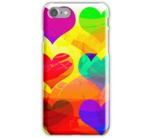 Funny love iPhone Case/Skin