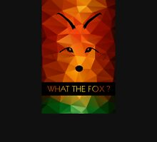 What the Fox ? multicolor Womens Fitted T-Shirt
