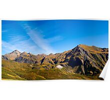 Pyrenees' mountains Poster