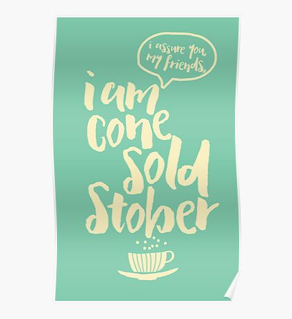 Cone Sold Stober Poster
