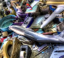 Work Bench -- Airplane Models by njordphoto