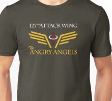 The Angry Angels : 127th Attack Wing Unisex T-Shirt