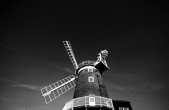 Cley Windmill by marc melander