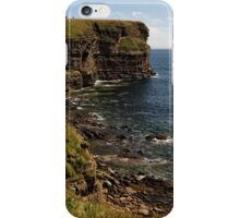 Standing at the Top of Scotland iPhone Case/Skin