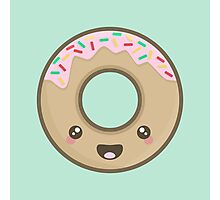 Kawaii Donut Photographic Print