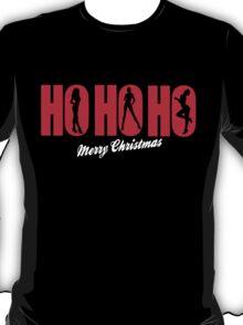 HO HO HO - MERRY CHRISTMAS T-Shirt