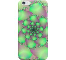 Green & Pink Spiral iPhone Case/Skin