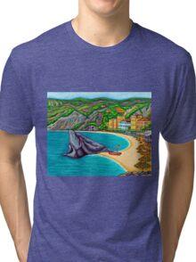 Colours of Monterosso Tri-blend T-Shirt