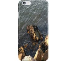 Rocks At Waterline... iPhone Case/Skin