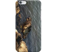 Rocks At Waterline2... iPhone Case/Skin