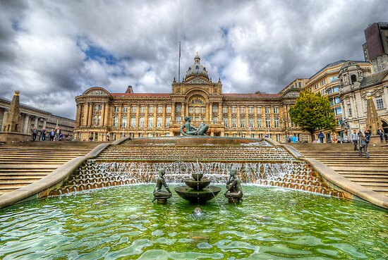 Council House & Victoria Square - Birmingham by Yhun Suarez