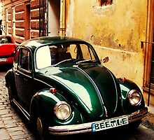 Green Beetle iPhone cover by ©The Creative  Minds