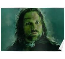 """Aragorn- Lord of the Rings"" Poster"