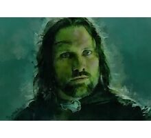 """Aragorn- Lord of the Rings"" Photographic Print"