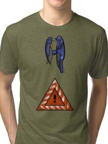 Halo 2- Scarab Gun Tri-blend T-Shirt