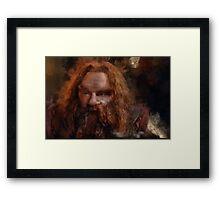 """Gimli-Lord of the Rings"" Framed Print"