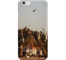 Plane Over Beach... iPhone Case/Skin