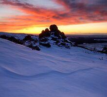 Pinnacle Sunset by Michael Treloar