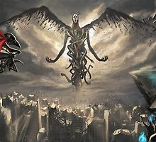 God in an Apocalypse by rivenis