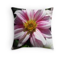 Flowers for Breast Cancer  Throw Pillow