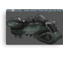 Halo 3- Elephant Canvas Print