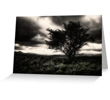 once upon a hill Greeting Card