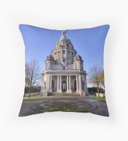 The Ashton Memorial, Lancaster Throw Pillow