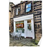 Sids Cafe, Holmfirth Poster