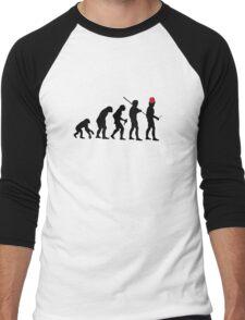 Evolution of the Time Lord - Light Colors Men's Baseball ¾ T-Shirt