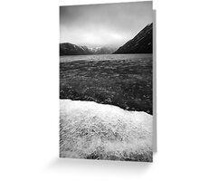 Icy Loch 6 Greeting Card