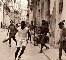 Street Life in Havana, Cuba by Keith Molloy