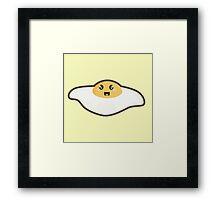 Kawaii Fried egg Framed Print