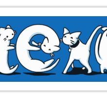 Cat-Exist   Coexist Sticker